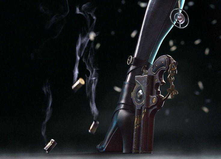 Resultado de imagen de bayonetta guns boots