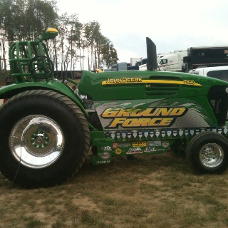 Ground Force limited pro stock tractor