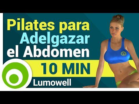 Abdomen en 10 Minutos - Pilates para Adelgazar el Abdomen - YouTube