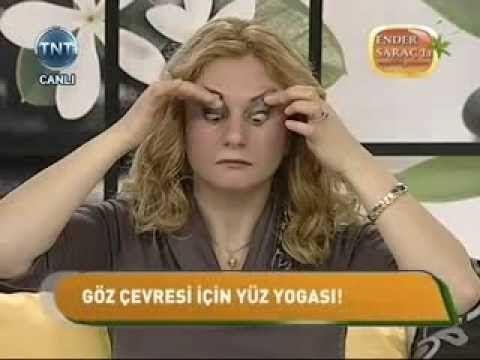 Boyun Germek ve Gıdı Eritmek İçin Yüz Yogası Hareketleri Feride Mehtizade sağlık videoları - YouTube