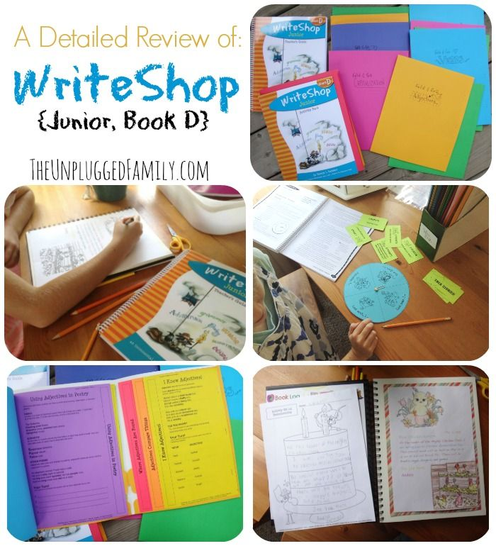 A Detailed Review of WriteShop {Junior, Book D} This is an incredibly detailed,  comprehensive writing program. The program is completely laid out in the high quality Teacher's Guide and comes with everything you could possibly need to successfully teach/experience the curriculum. (Don't you love that...?)