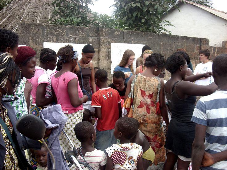 Marché des Yovos, bénéfices reversés à l'orphelinat d'Agbélouvé - Togo 2013