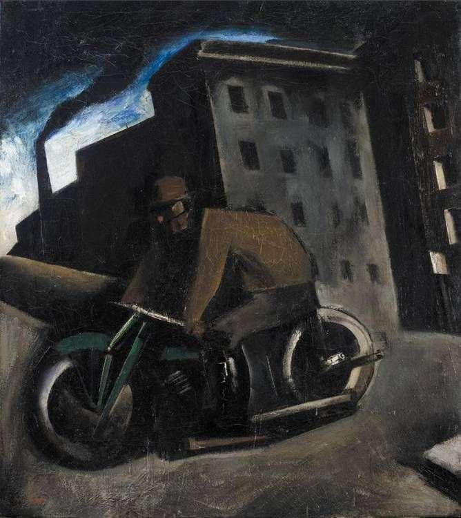 Mario Sironi - Painted circa 1924-25, oil on canvas