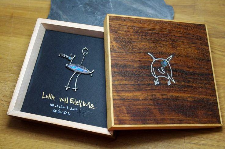 wooden box for luxury jewel from Ulule