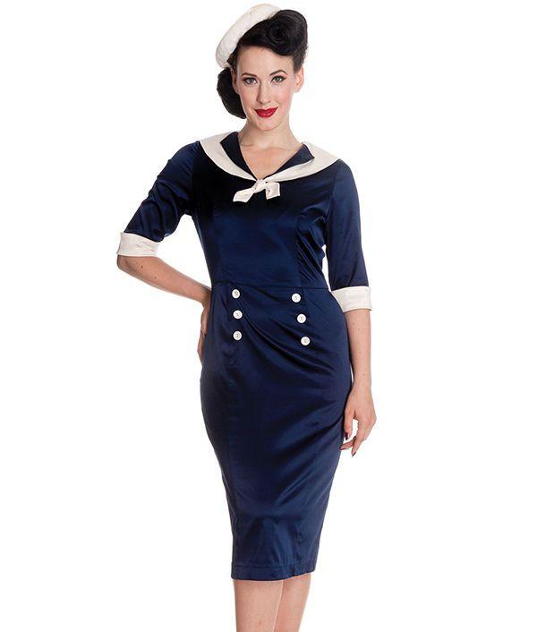 Sommerlicher Klassiker: Kleider im Marine-Stil | eBay