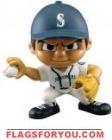 """Mariners Lil' Teammates Series 3 Pitcher 2 3/4"""" tall"""