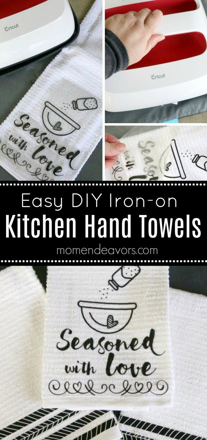 Diy Black White Kitchen Hand Towels Making Your Own Cute