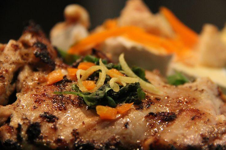 Grilled Boneless Marinated Chicken Thighs