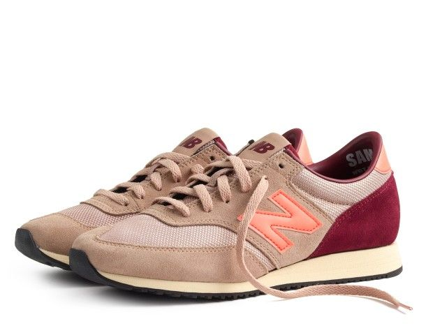 New Balance Vintage Colorblock Kicks