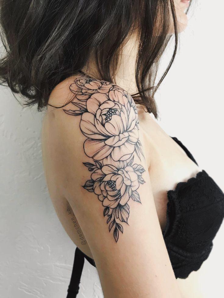 Ohne unterste Blume und mit mehr Blättern auf der hinteren Seite – Drinette