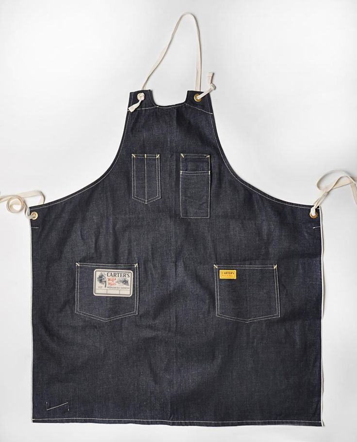 Work apron.  Greg Chapman, Nate Warkentin and Chris Grodzki have launched a new collection of workwear called H.W. Carter & Sons. The thing is, it isn't necessarily all new.  Originally founded back in 1859 by Henry W. Carter in Lebanon, New Hampshire it soon after became widely regarded (especially in New England) for its overalls and workwear.