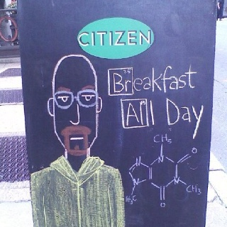 What Heisenberg eats at The Citizen in Richmond VARichmond Va, Heisenberg Eating