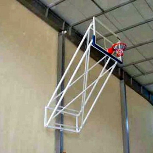 Basketbol Potası Duvara Montaj  Mdf  Panya ES148 Basketbol Potası Duvara Montaj Yükseklik Ayarlı Katlanabilir Elektrik Tüp Motorlu 18 mm MDF. Panya  105 x 180 cm 20 Sabit Çember Öne çıkması; isteğe göre farklılık göstermektedir. İstenilen öne çıkma mesafesine göre kullanılan malzemeler farklılık göstermektedir. Elektro statik boyalıdır.
