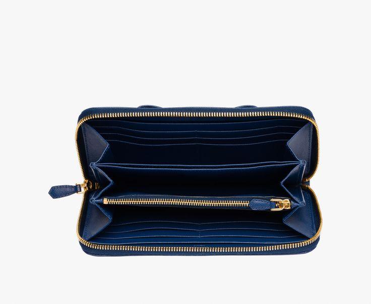 Prada Woman - Wallet - Cornflower blue - 1ML506_ZTM_F0016