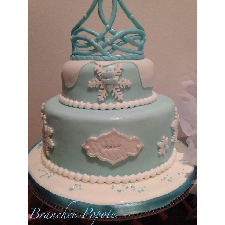 Gâteau Reine des neigesde Mahé | Branchée Popote