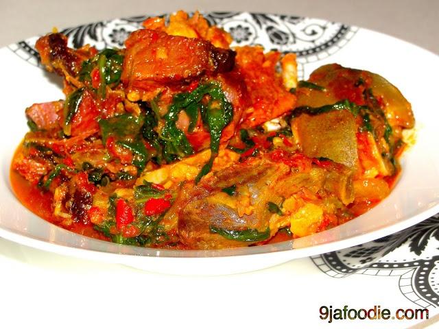 Efo ( Spinach Stew)