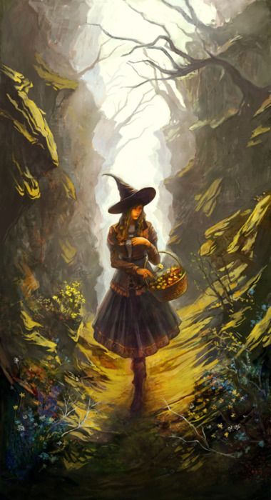 magick wicca witch witchcraft spring by phoenix feng at deviantart - Halloween Witchcraft