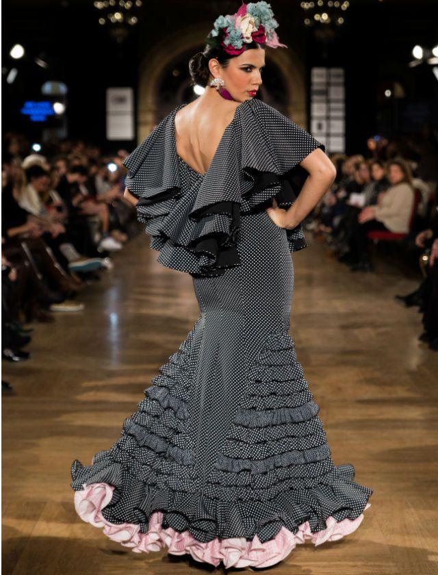 Diseño de Inma Linares en We love flamenco 2016. Aníbal González