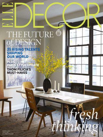 Elle Decor Magazine iPad Screenshot 13 found on AnyKey.Com
