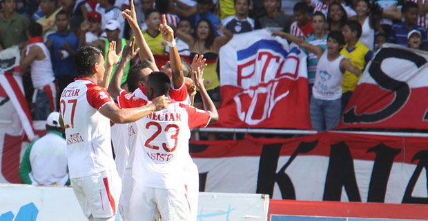 Independiente Santa derrota al Junior y quedaron 26 años atrás (Foto)