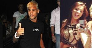 Neymar recebe a namorada Bruna Marquezine em sua festa de aniversário - Além dos amigos, Neymar contou com a presença mais que especial da namorada Bruna Marquezine para festejar o aniversário de 21 anos em uma balada na noite deste domingo, 24, em São Paulo