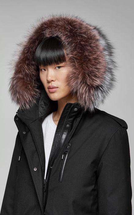 1d6ddb452b1c RENA-DX down filled twill parka with fur-lined hood