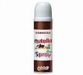 Nutella spray... We should use this in a Spa Foodie face mask!
