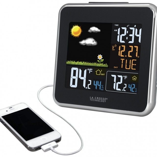 La Crosse Wireless Weather Station Color - See more weather related products at: http://tonysweatherstore.com