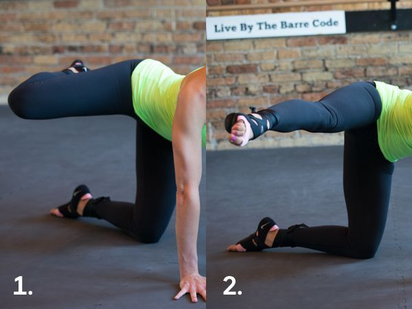 LIft Your Butt: Killer Kicks - while this looks easy, IT IS ABSOLUTELY NOT! Bonus: real results fast.