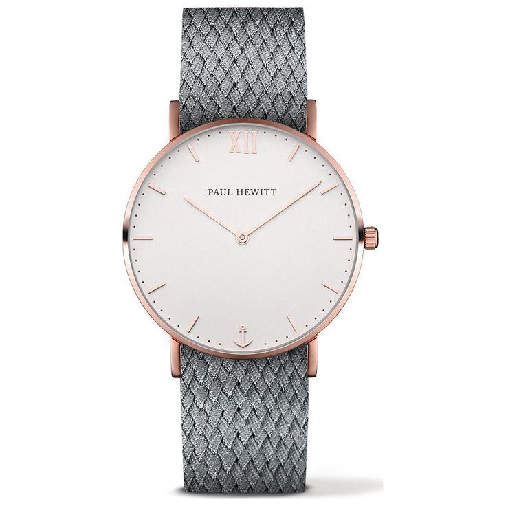 Paul Hewitt Uhr Sailor Line White Sand PH-SA-R-St-W-18