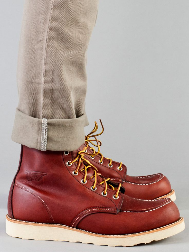 American Apparel - Red Wing Moc Boot