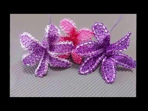İğne Oyaları Kasımpatı Çiçeği yapılışı - YouTube