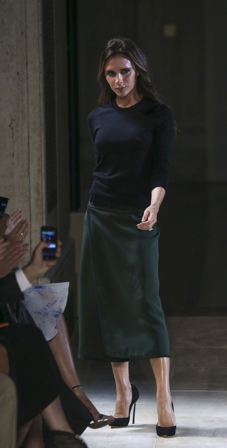 1000 Images About Victoria Beckham Collection New York Fashion Week Spring Summer 2015 On