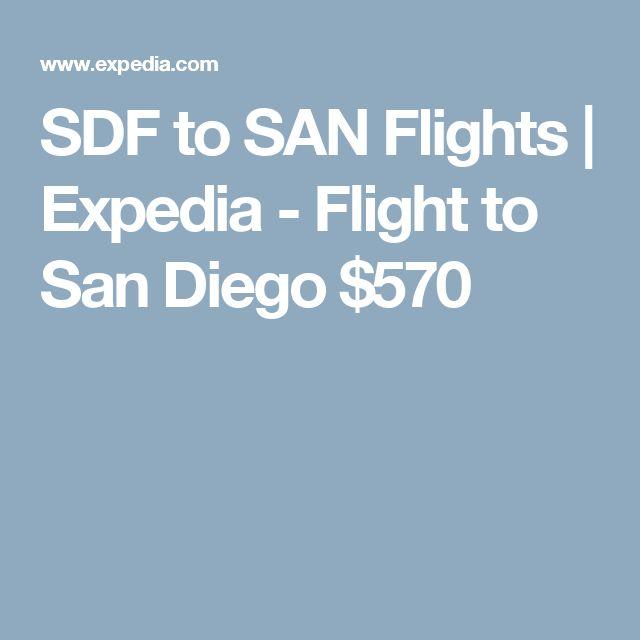 SDF to SAN Flights | Expedia - Flight to San Diego $570