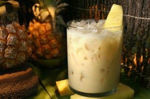 PUSSER'S.PAIN.KILLER.COCKTAIL:  8 servings:  16 oz Pusser's® dark rum  8 oz cream of coconut  32 oz pineapple juice  8 oz orange juice    Shake or stir ingredients, and pour over ice in a tall glass. Sprinkle nutmeg on top, and serve,    Read more: Painkiller recipe http://www.drinksmixer.com/recipes/7868/#ixzz1tSwQJ3u8