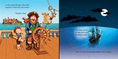 "Pages from ""Pirate Stories for Little Children"" at www.usborne.com/pirates #Usborne #children's #books #pirates #stories"