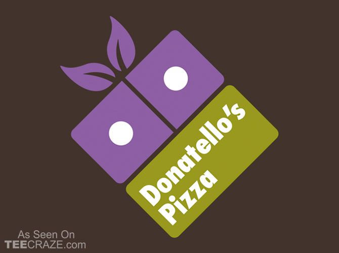 Donatellos Pizza T-Shirt - http://teecraze.com/donatellos-pizza-t-shirt/ -  Designed by Olipop
