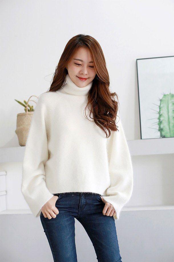 Азиатская мода, мода, kfashion, вязать, корейская мода