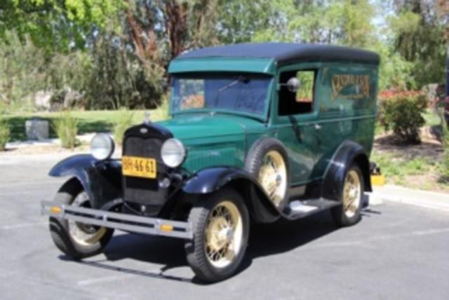 1930 Ford Model A Panel Delivery Truck For Sale | azcarsandtrucks.com