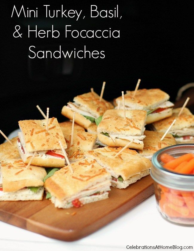 """homemade"" focaccia sandwiches — Celebrations at Home"