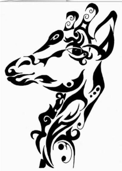 My giraffe tattoo:)
