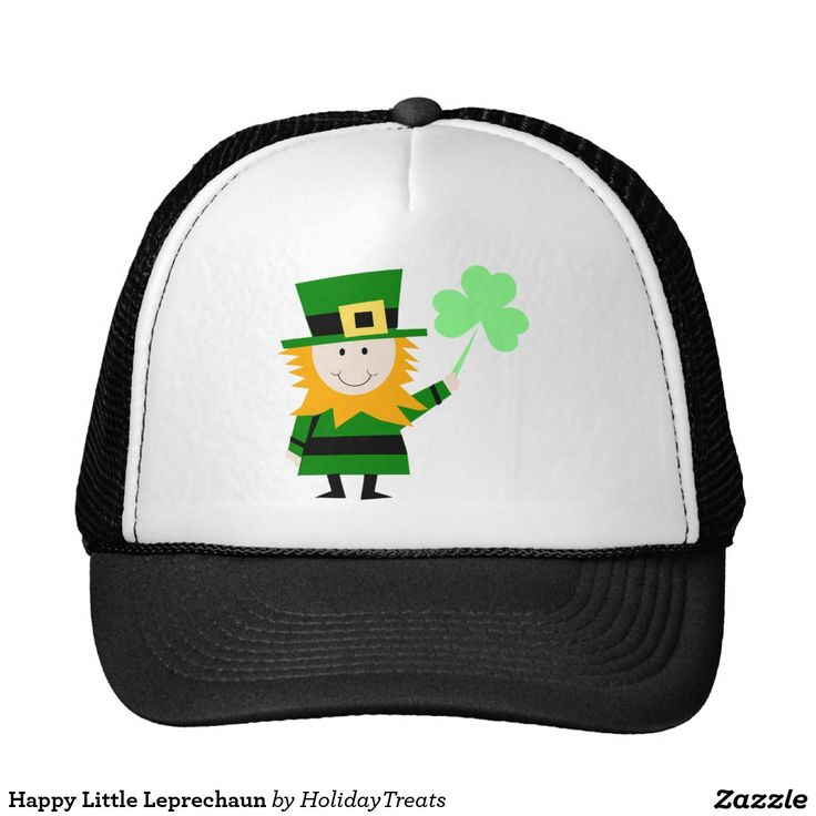 Happy Little Leprechaun Trucker Hat