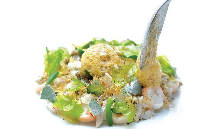 Ben Shewry Attica Restaurant in Melbourne, Australia. Sea Tastes. Book on a tuesday - experimental day.