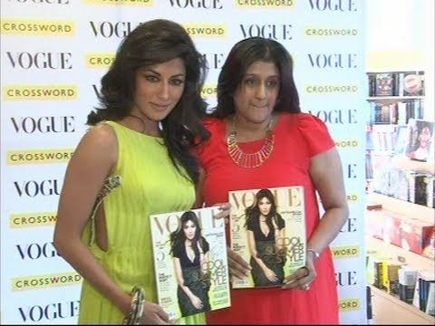 Gorgeous Chitrangada Singh at the launch of VOGUE magazine.flv