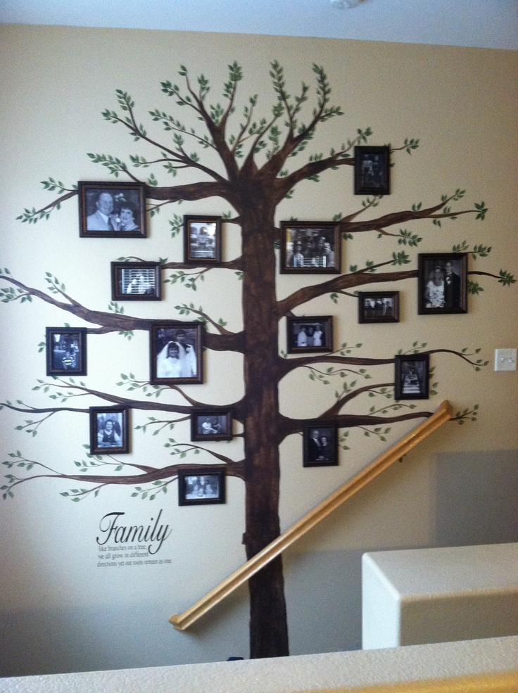 I Love Our Family Tree Wall Whanau Tree Pinterest