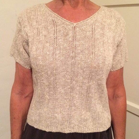 A&F top In perfect condition. Super cute and comfortable. High waisted minimalist simple neutral casual. Style is similar to: Brandy Melville, Urban Uutfitters, Hollister Abercrombie & Fitch Tops