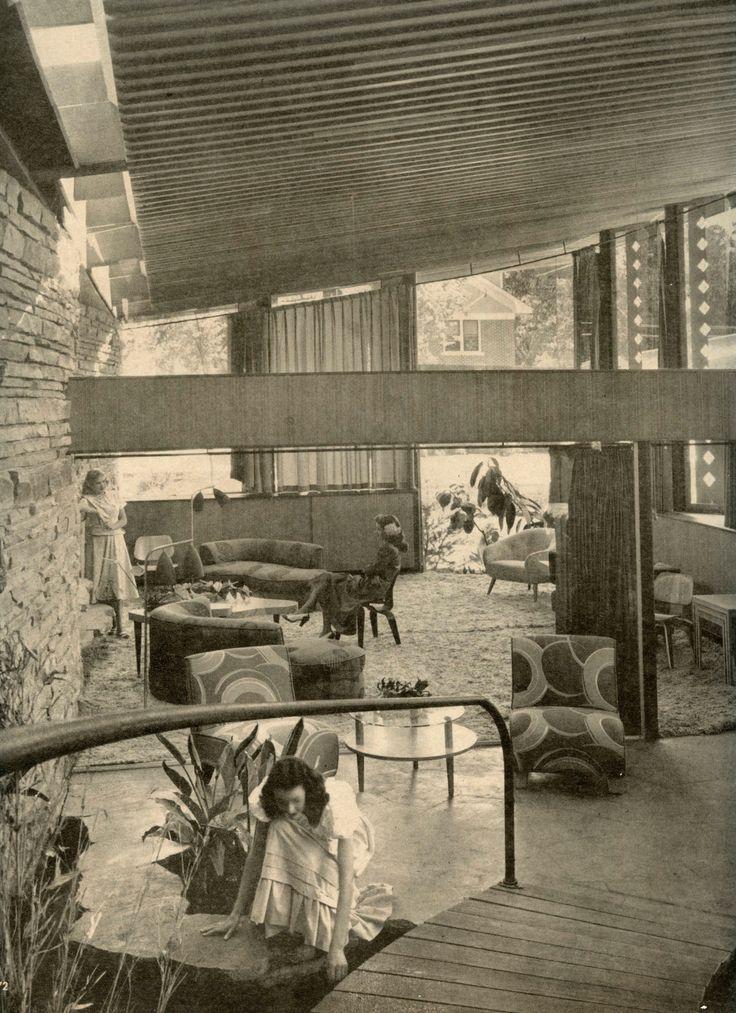 212 Best Mid Century Interiors Images On Pinterest