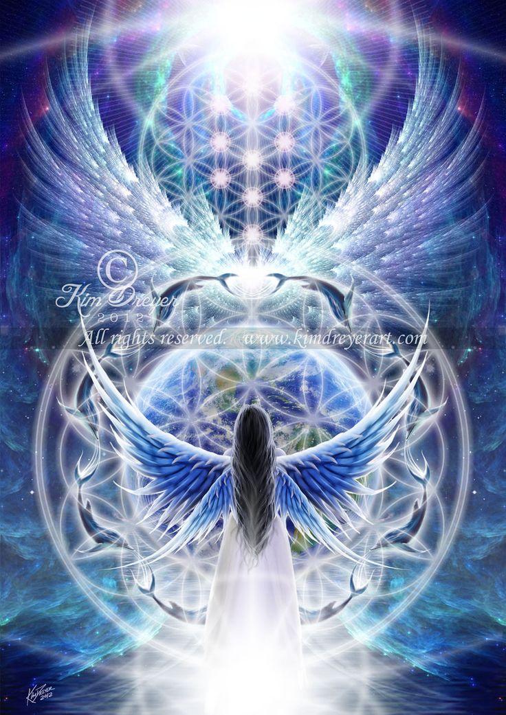 Kim Dreyer - Be Strong, Earth Angel
