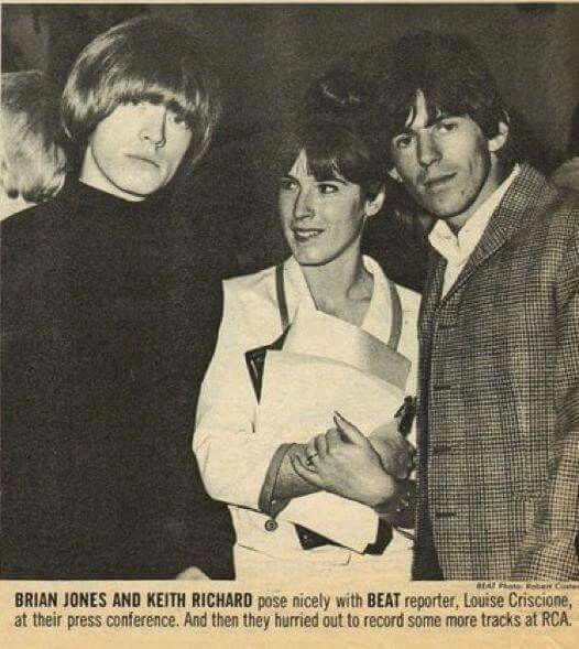 Brian and Keith, with Beat reporter Louise Criscione.                                                                                                                                                                                 More