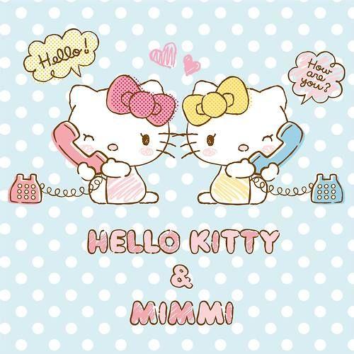 Hello Kitty and Mimmi